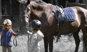 Ponyreiten in Taubenheim bei Dresden Kindergeburtstag